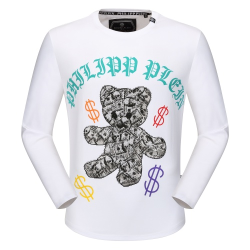 Philipp Plein PP T-Shirts Long Sleeved O-Neck For Men #792330