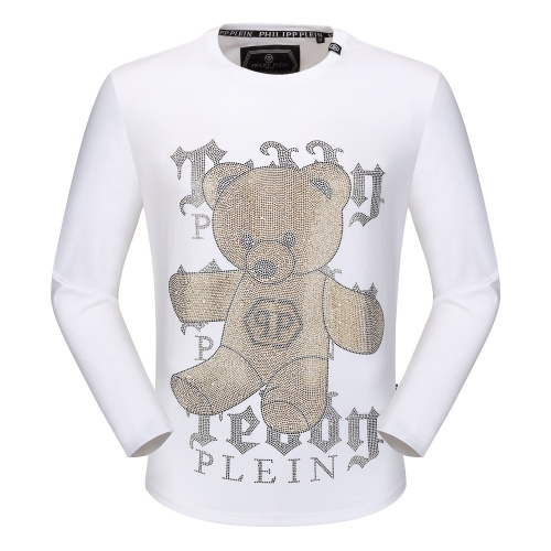Philipp Plein PP T-Shirts Long Sleeved O-Neck For Men #792331
