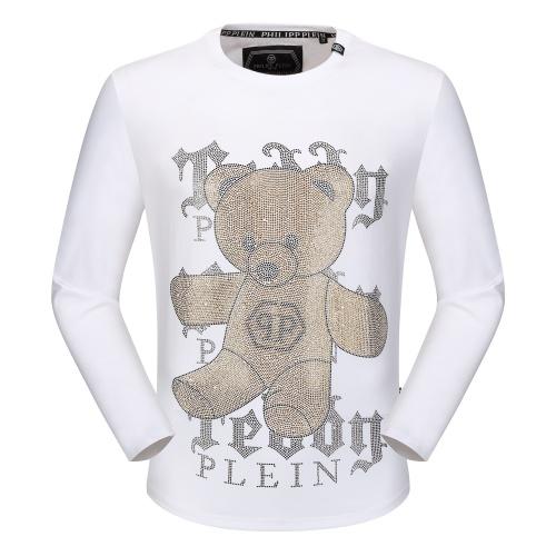 Philipp Plein PP T-Shirts Long Sleeved O-Neck For Men #792331
