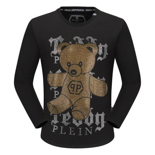 Philipp Plein PP T-Shirts Long Sleeved O-Neck For Men #792332