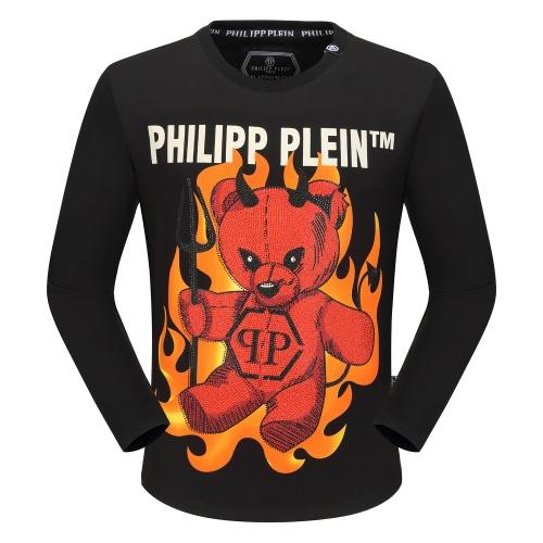 Philipp Plein PP T-Shirts Long Sleeved O-Neck For Men #792333