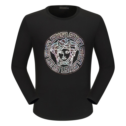 Versace T-Shirts Long Sleeved O-Neck For Men #792337