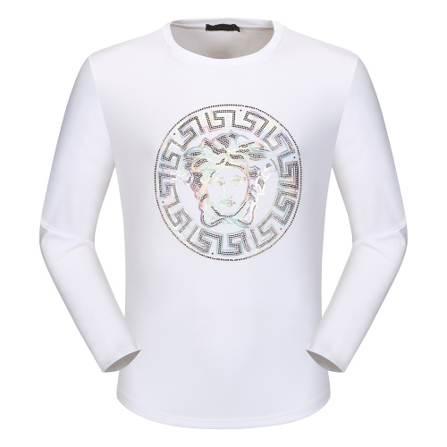 Versace T-Shirts Long Sleeved O-Neck For Men #792338