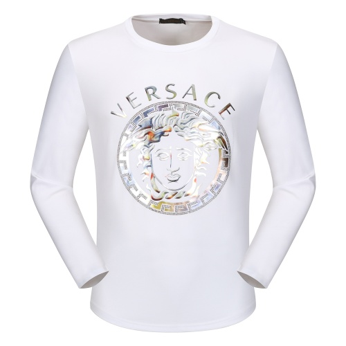 Versace T-Shirts Long Sleeved O-Neck For Men #792342