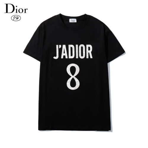 Christian Dior T-Shirts Short Sleeved O-Neck For Men #792609