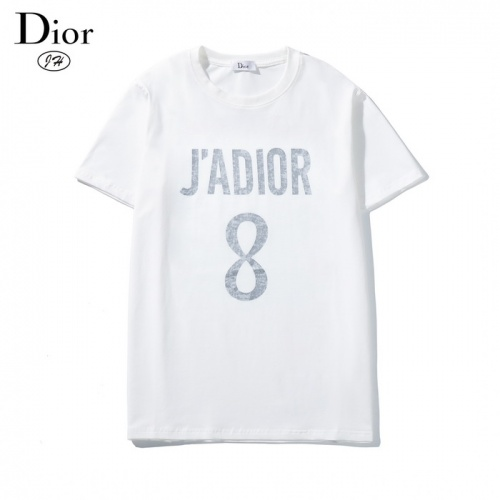 Christian Dior T-Shirts Short Sleeved O-Neck For Men #792610