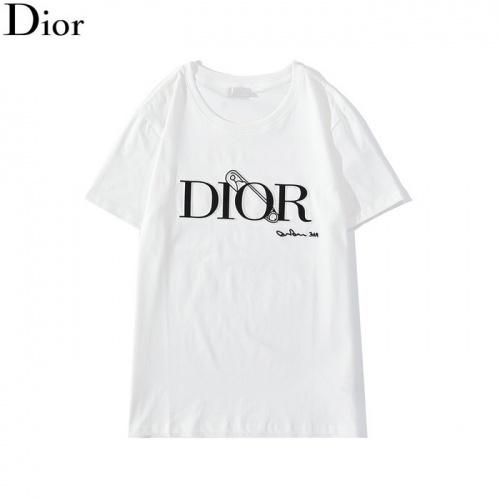 Christian Dior T-Shirts Short Sleeved O-Neck For Men #792614