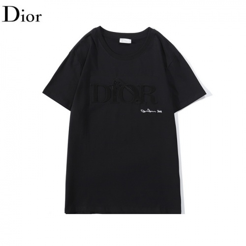 Christian Dior T-Shirts Short Sleeved O-Neck For Men #792615