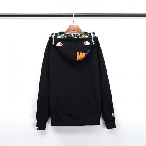 Bape Hoodies Long Sleeved Zipper For Men #792730 $54.32 USD, Wholesale Replica Bape Hoodies