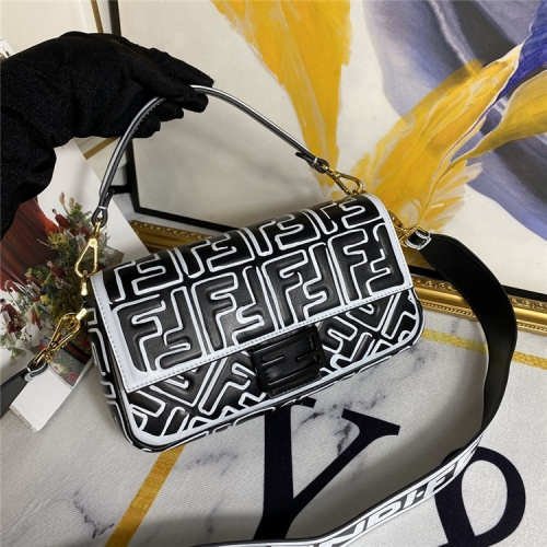 Fendi AAA Quality Messenger Bags #792801 $135.80 USD, Wholesale Replica Fendi AAA Messenger Bags