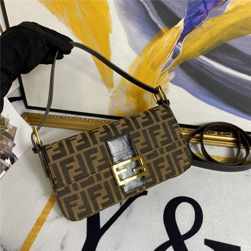 Fendi AAA Quality Messenger Bags For Women #792803