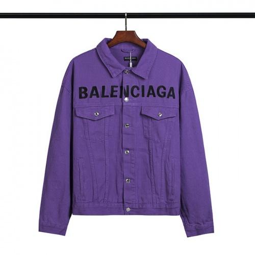 Balenciaga Jackets Long Sleeved Polo For Men #793179