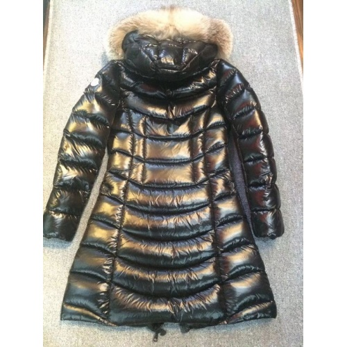 Moncler Down Feather Coat Long Sleeved Zipper For Women #793187