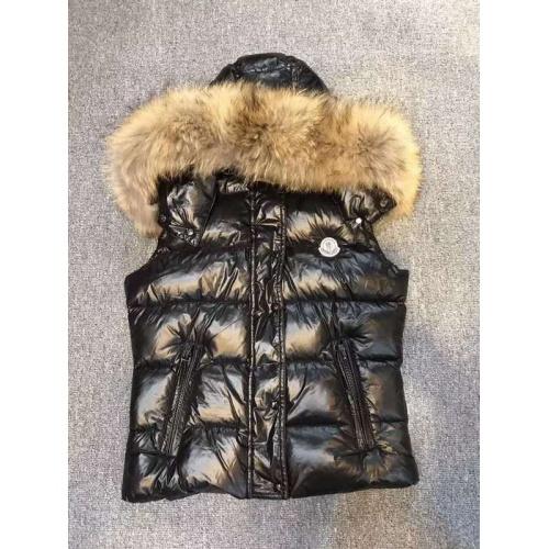 Moncler Down Vest Sleeveless Zipper For Women #793199