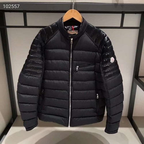Moncler Down Feather Coat Long Sleeved Zipper For Men #793203