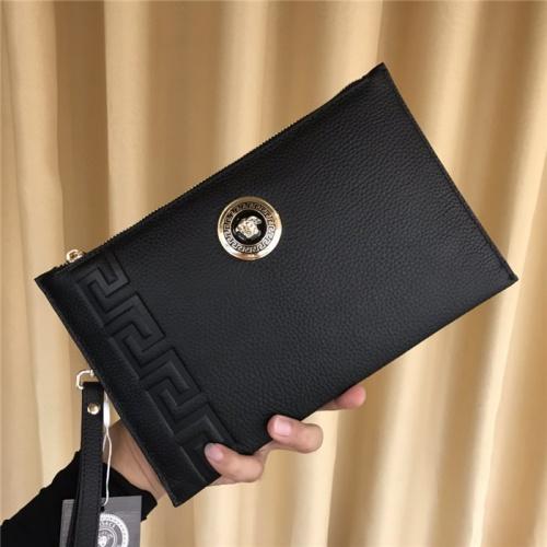Versace AAA Man Wallets #793325