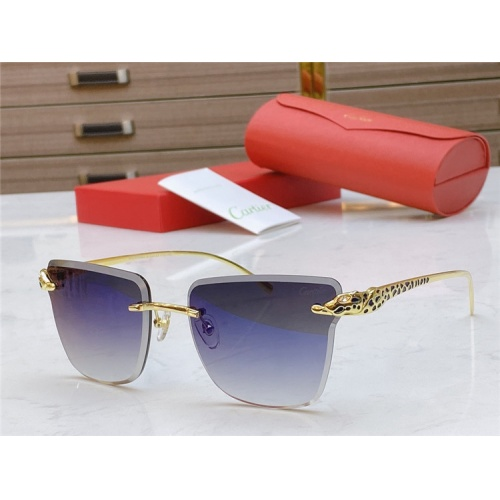 Cartier AAA Quality Sunglasses #793365