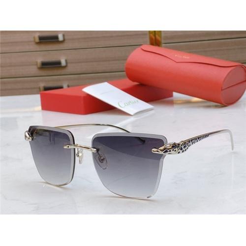 Cartier AAA Quality Sunglasses #793367