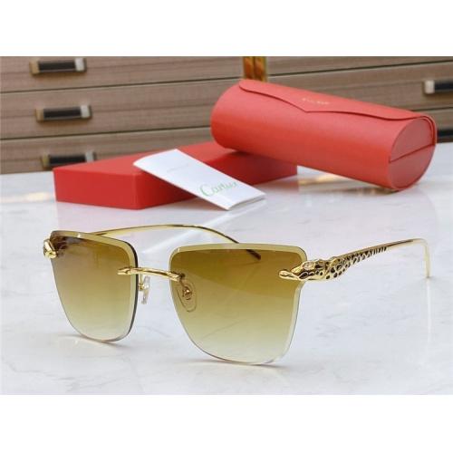 Cartier AAA Quality Sunglasses #793369