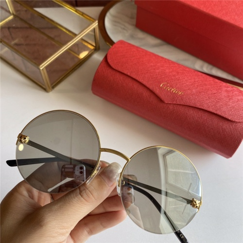 Cartier AAA Quality Sunglasses #793378