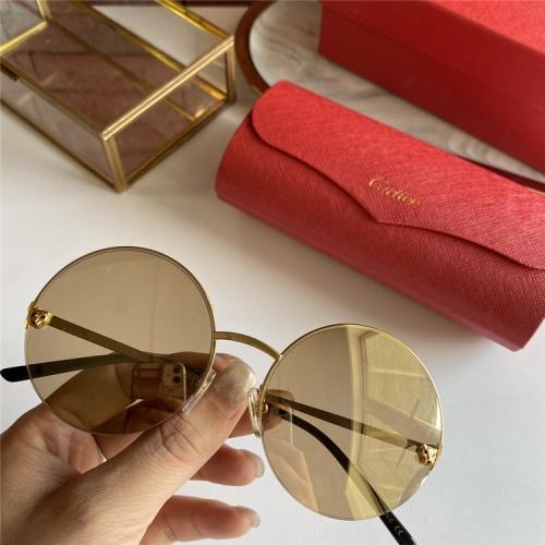 Cartier AAA Quality Sunglasses #793379