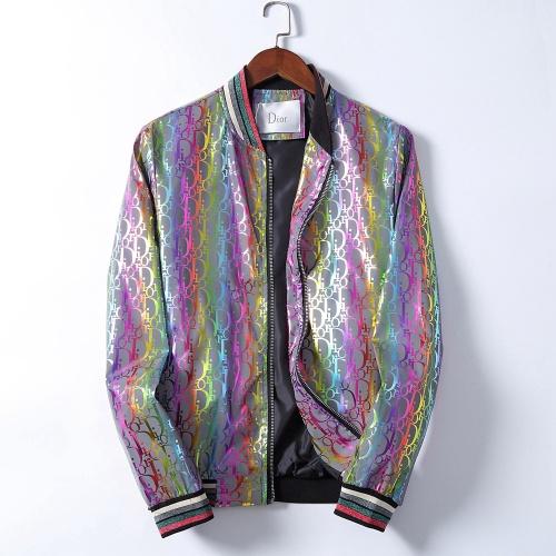Christian Dior Jackets Long Sleeved Zipper For Men #793400