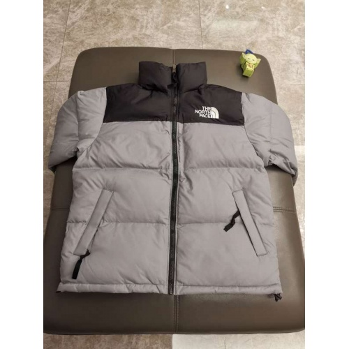 The North Face Down Feather Coat Long Sleeved Zipper For Unisex #793405