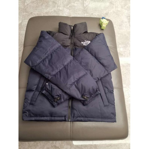 The North Face Down Feather Coat Long Sleeved Zipper For Unisex #793409