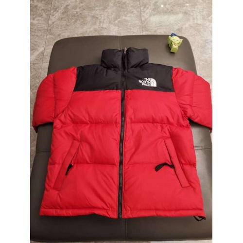 The North Face Down Feather Coat Long Sleeved Zipper For Unisex #793411