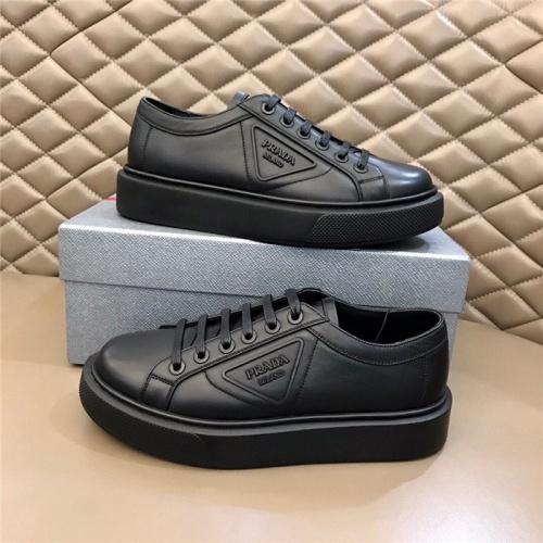 Prada Casual Shoes For Men #793445 $73.72 USD, Wholesale Replica Prada Casual Shoes