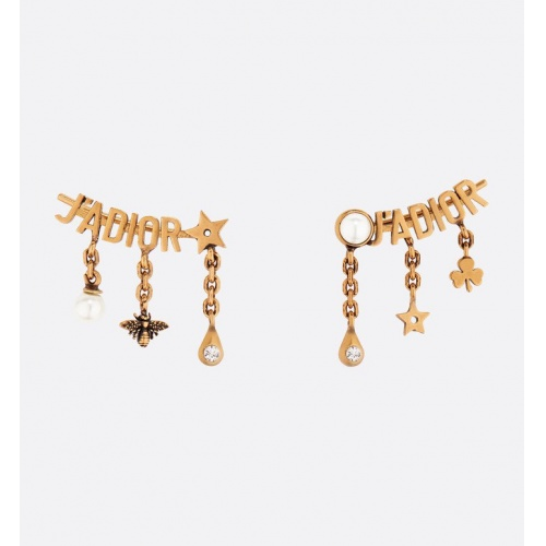 Christian Dior Earrings #793556 $26.19 USD, Wholesale Replica Christian Dior Earrings