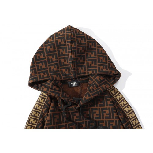 Replica Fendi Hoodies Long Sleeved Hat For Men #793562 $39.77 USD for Wholesale