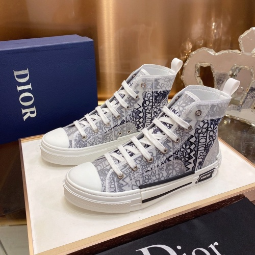 Christian Dior High Tops Shoes For Men #793593