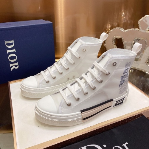 Christian Dior High Tops Shoes For Men #793594