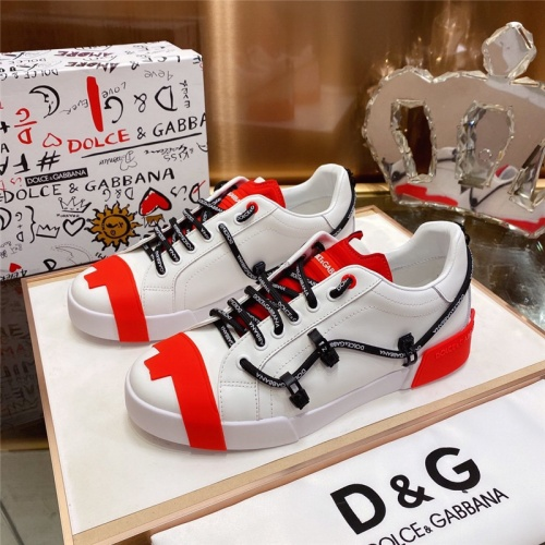 Dolce & Gabbana D&G Casual Shoes For Men #793602