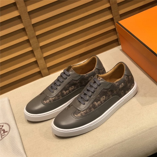Hermes Casual Shoes For Men #793603 $98.94 USD, Wholesale Replica Hermes Casual Shoes