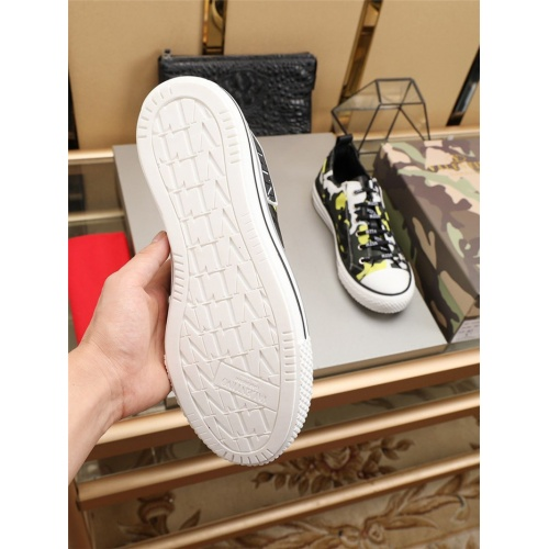 Replica Valentino Casual Shoes For Men #794222 $77.60 USD for Wholesale