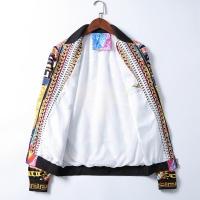 $50.44 USD Versace Jackets Long Sleeved Zipper For Men #785596