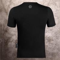 $28.13 USD Philipp Plein PP T-Shirts Short Sleeved O-Neck For Men #786145