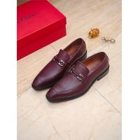 Ferragamo Salvatore FS Leather Shoes For Men #789026