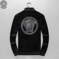 $98.94 USD Versace Tracksuits Long Sleeved Zipper For Men #789396