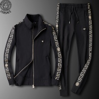 $95.06 USD Versace Tracksuits Long Sleeved Zipper For Men #789400