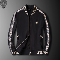 $95.06 USD Versace Tracksuits Long Sleeved Zipper For Men #789404