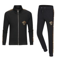 $79.54 USD Versace Tracksuits Long Sleeved Zipper For Men #789429