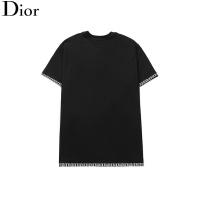 $24.25 USD Christian Dior T-Shirts Short Sleeved O-Neck For Men #791011