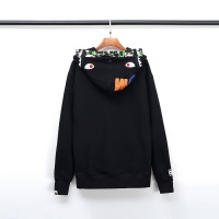 $54.32 USD Bape Hoodies Long Sleeved Zipper For Men #792730