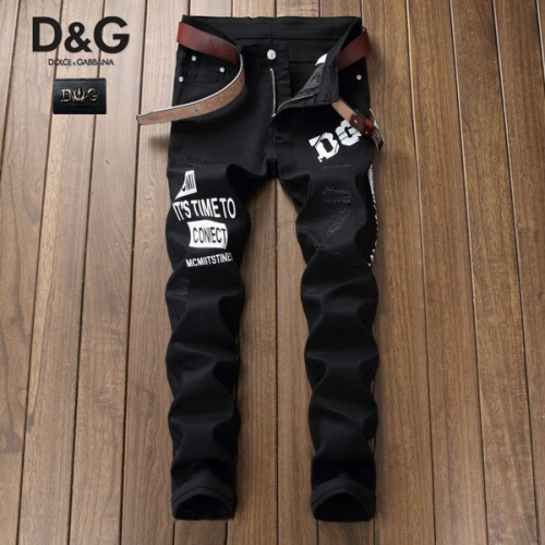 Dolce & Gabbana D&G Jeans Trousers For Men #794756