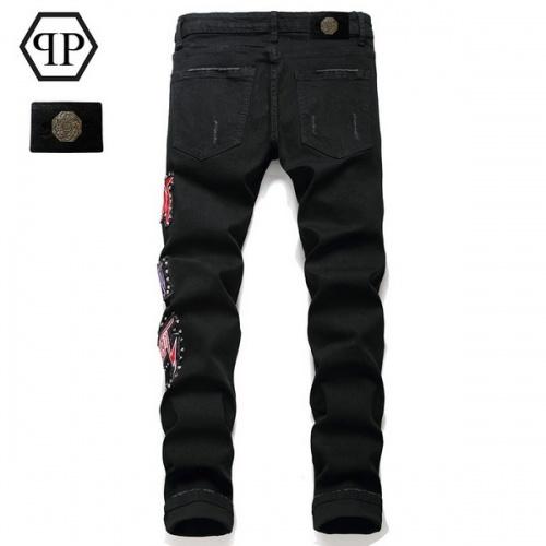 Replica Philipp Plein PP Jeans Trousers For Men #794780 $52.38 USD for Wholesale