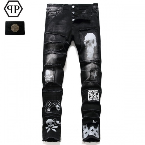 Philipp Plein PP Jeans Trousers For Men #794781