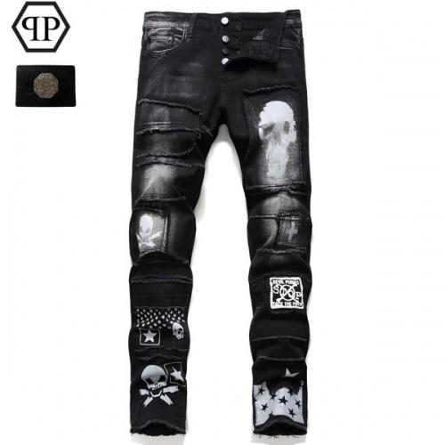 Philipp Plein PP Jeans Trousers For Men #794781